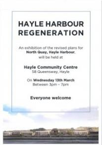 North Quay – Exhibition of Revised Plans 13 Mar 3pm=7pm Sennybridge